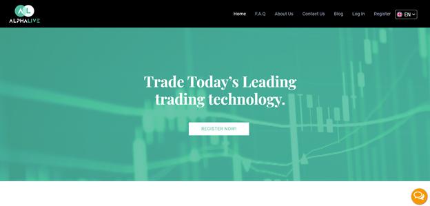 AlphaLive online trading