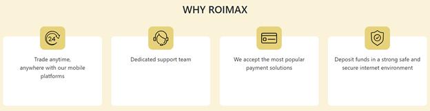 ROIMAX main features