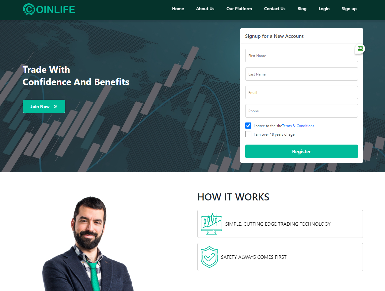 Coinlife features