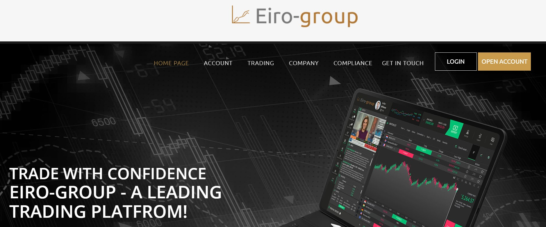 Eiro-group website