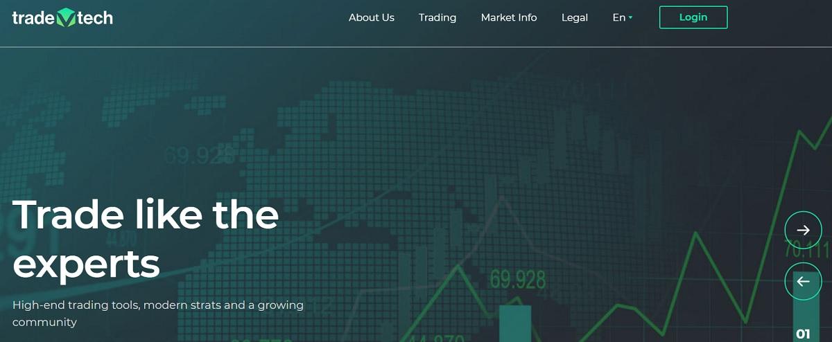 TradeVtech home page