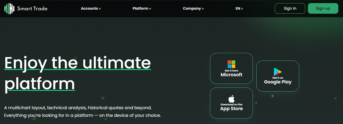 Smart Trade Group platform