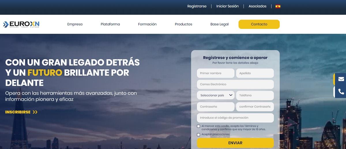 euroxn pagina de inicio