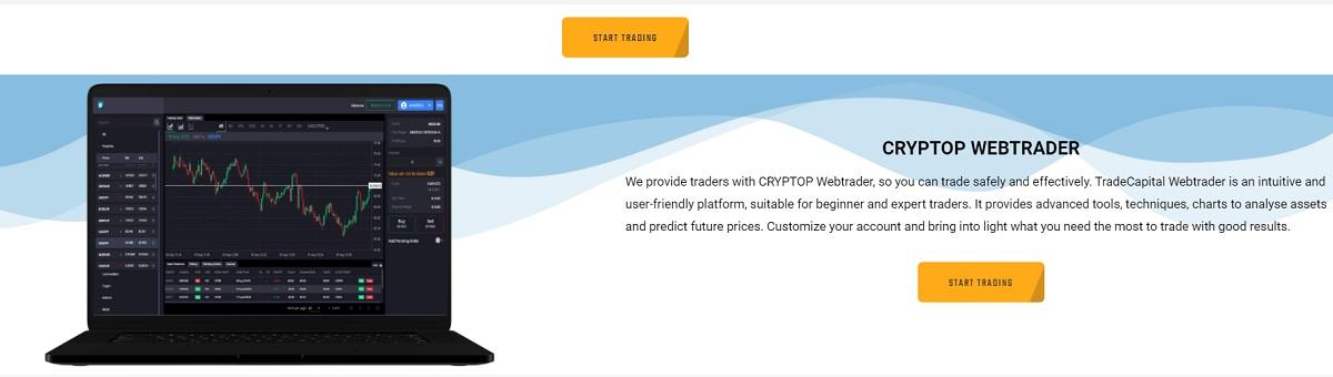 CRYPTOP trading platform