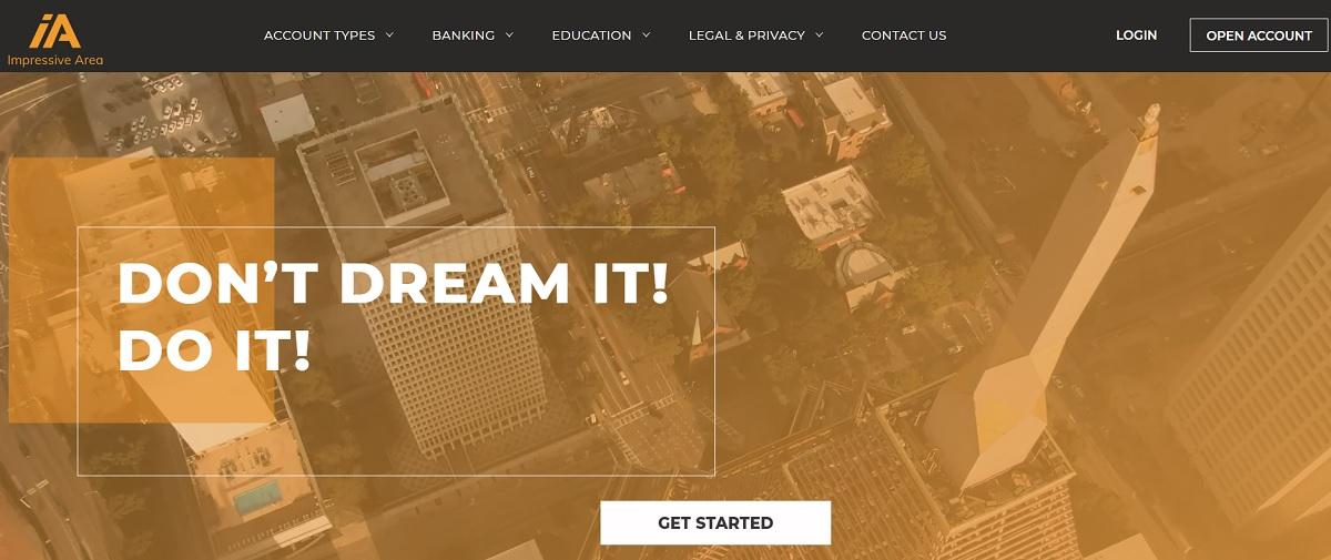 Impressive Area homepage